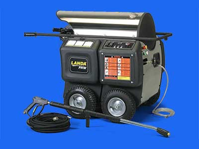 landa phw hot water pressure washer banner