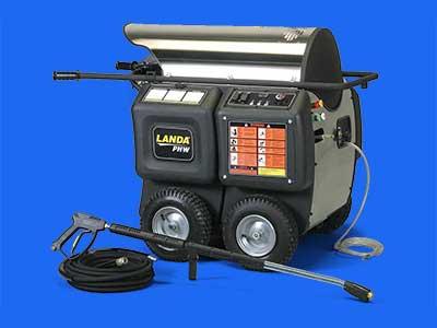 Landa Pghw Pressure Washers Landa Gas Oil Table