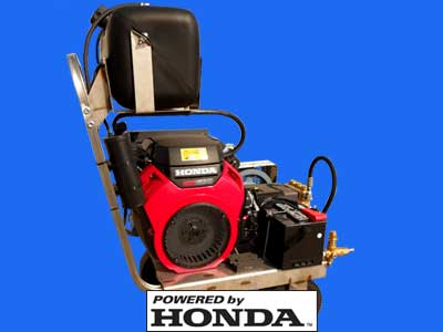 master blaster pressure washers powered by honda