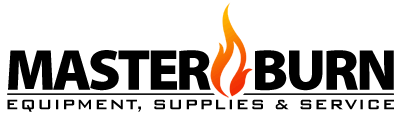 master burn clean burn waste oil heater logo
