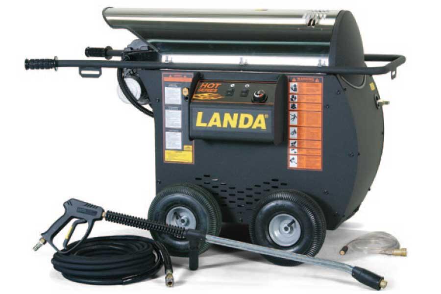 3 5 Gpm 2000 Psi Electric Oil Landa Hot4 20024g
