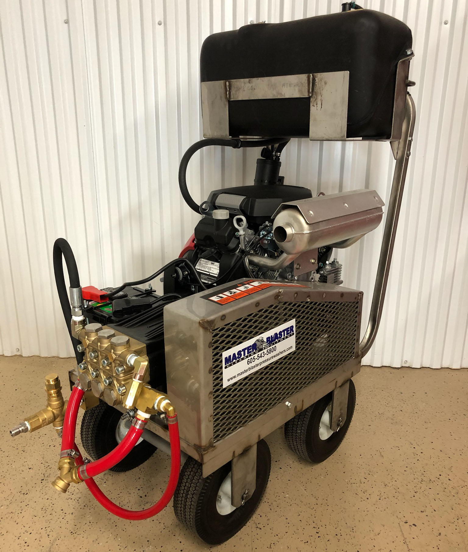 Master Blaster Gas-Powered Cold Water Pressure Washers Feature Honda Engines