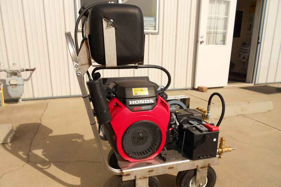 5 Gpm 5000 Psi Gas Cold Water Pressure Washer Mb 5005