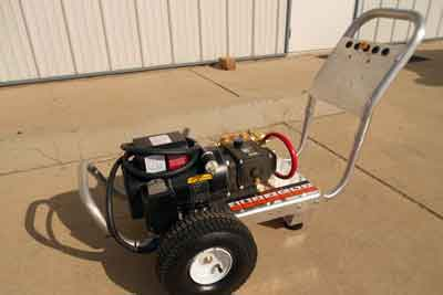 Model #MB1502E Cold Water Pressure Washer Without Hose Reel