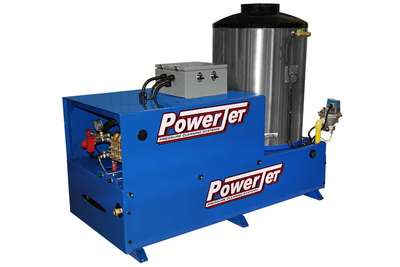 PowerJet Electric Power NG/LP Gas Heat Pressure Washer