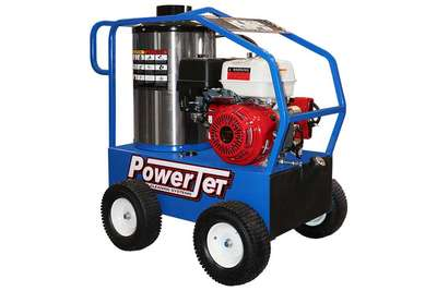 PowerJet Gas Power Oil Heat Pressure Washer