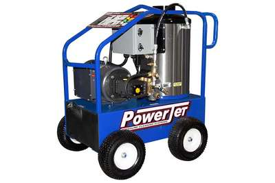 PowerJet Electric Power Oil Heat Pressure Washer