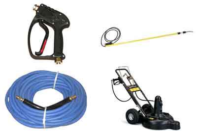 Master Blaster has the pressure washer parts you need - in stock